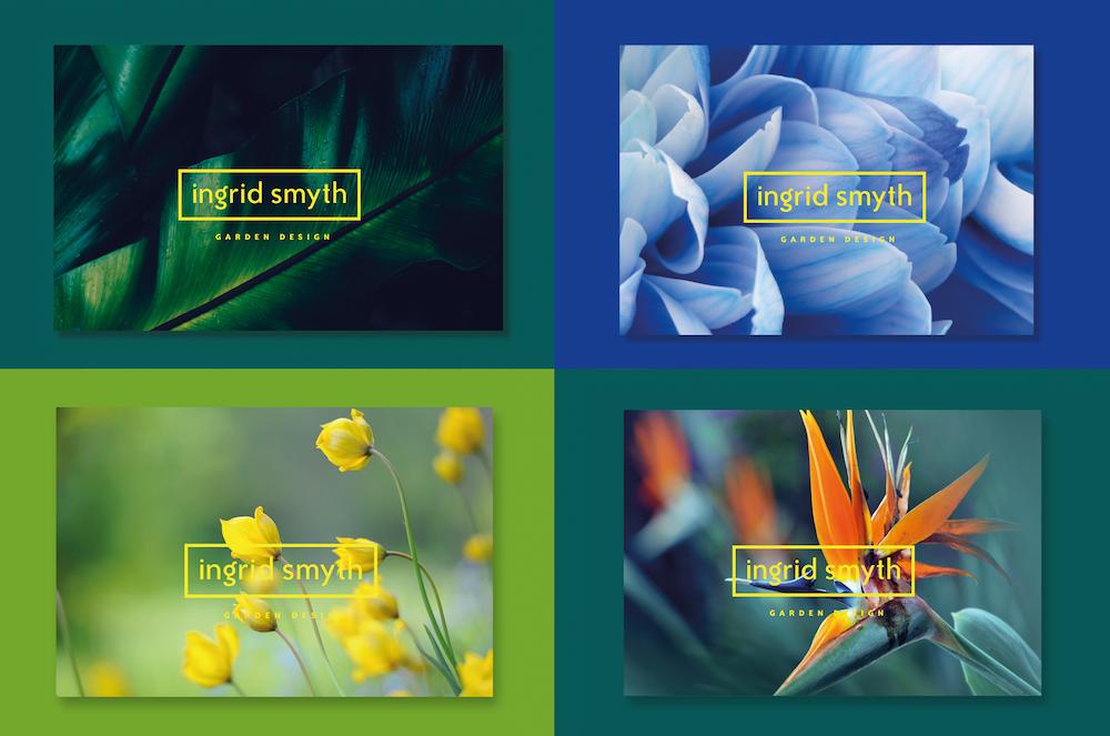 Ingrid Smyth Garden Design -brand identity work threesixty design agency kilkenny ireland 2
