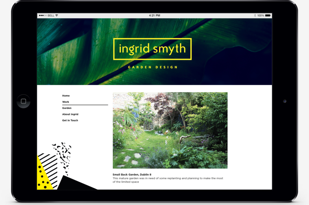 Ingrid Smyth Brand Identity Website Threesixty