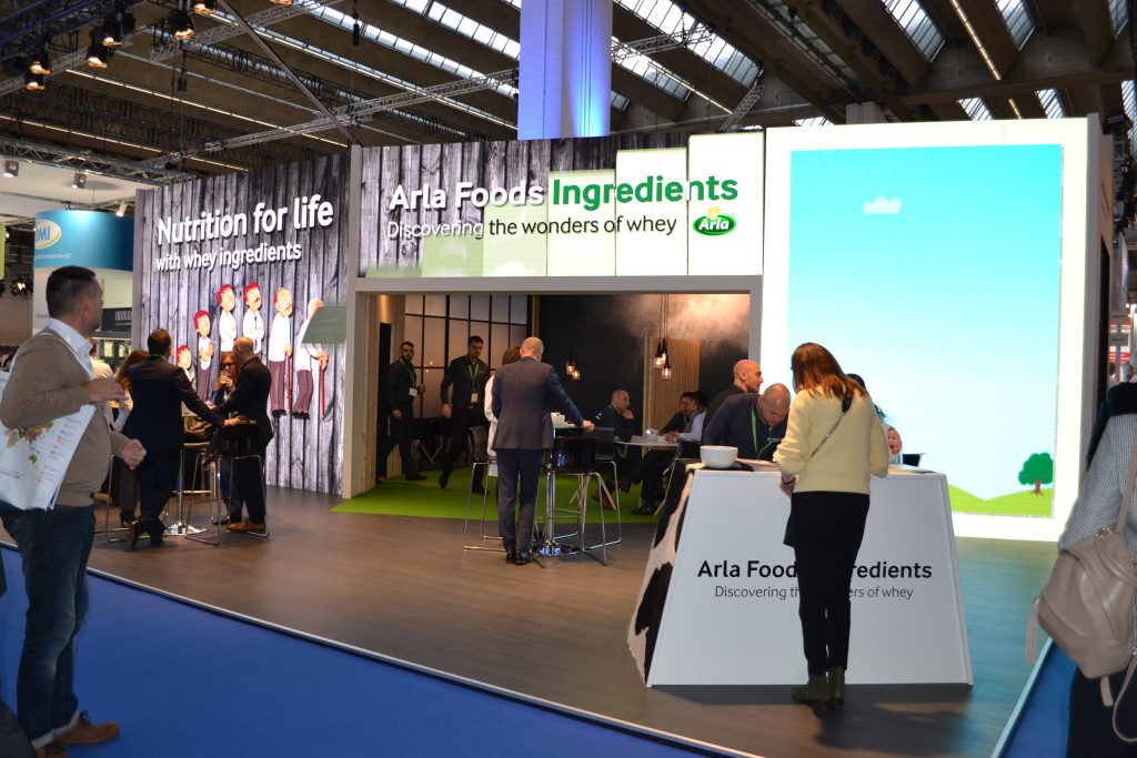 Threesixty Arla Food Ingredients at FIE Frankfurt