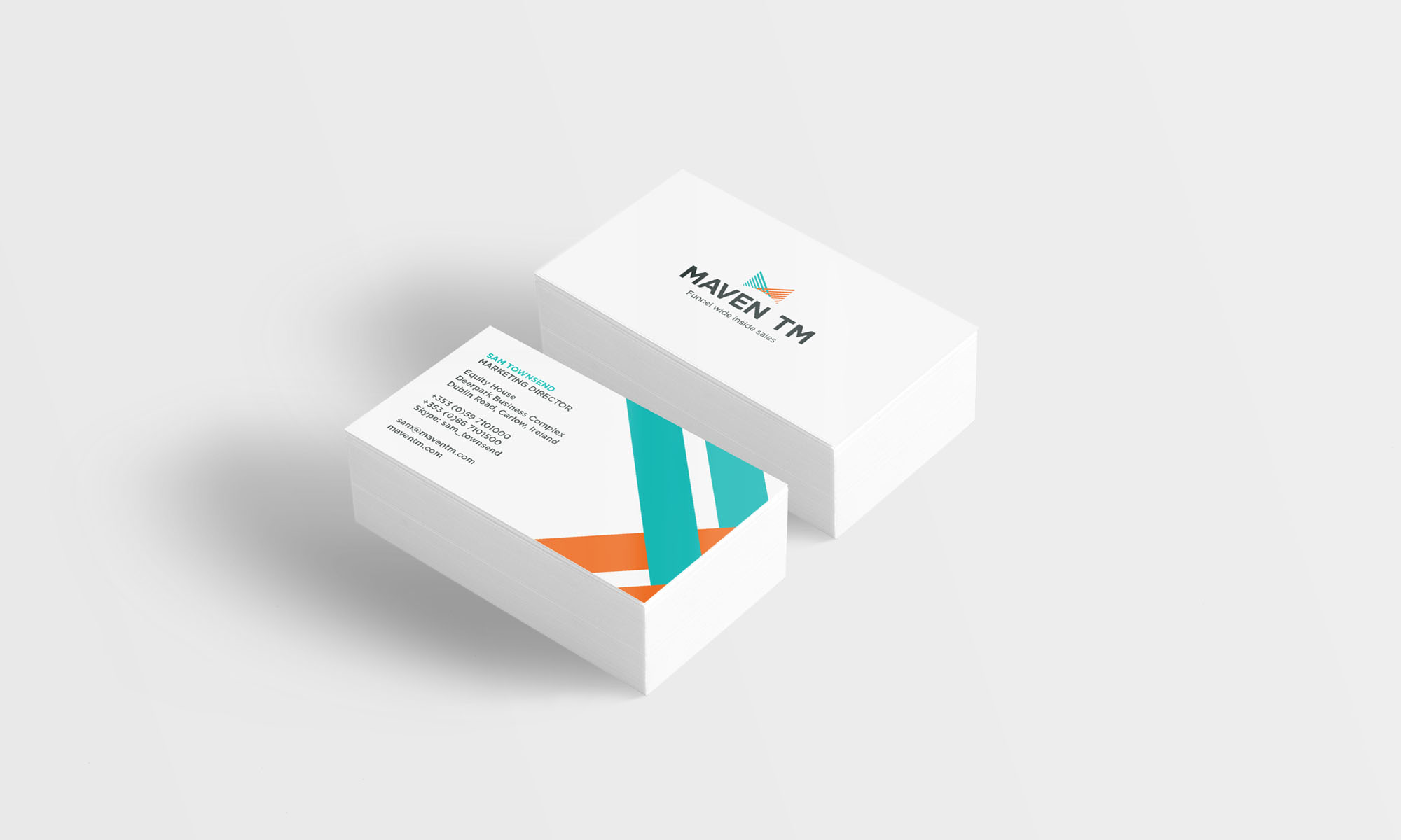 Maven tm business card