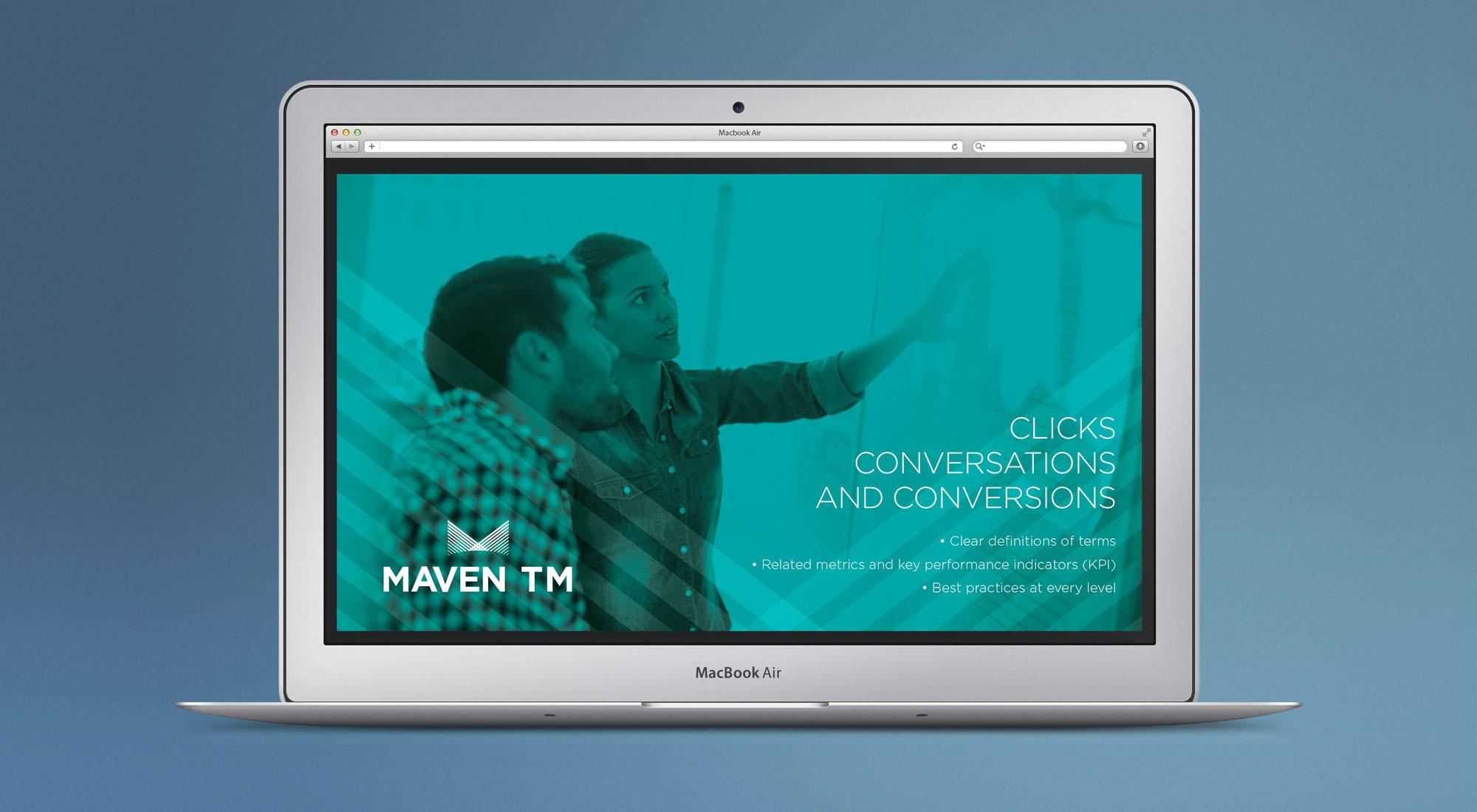 Maven TM screen