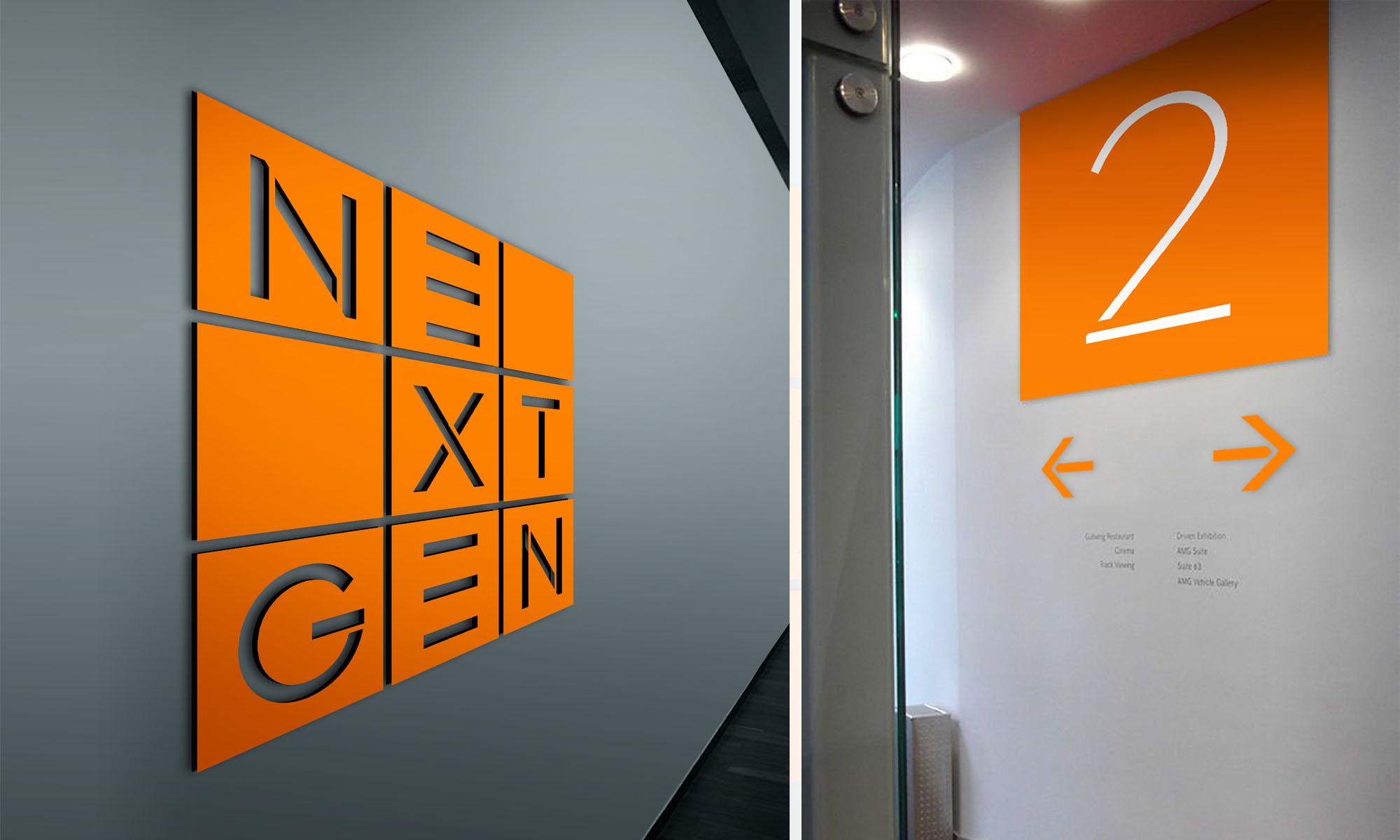NextGen signage