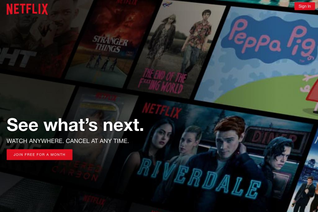 Threesixty Brands we Love - Netflix